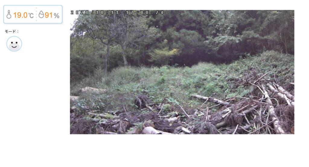 山小屋ライブカメラ設置しました