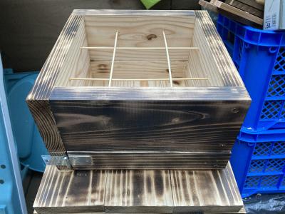 ミツバチの巣箱作り(小屋暮らし60日目)