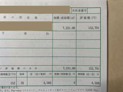 不動産取得税!!(小屋暮らし66日目)