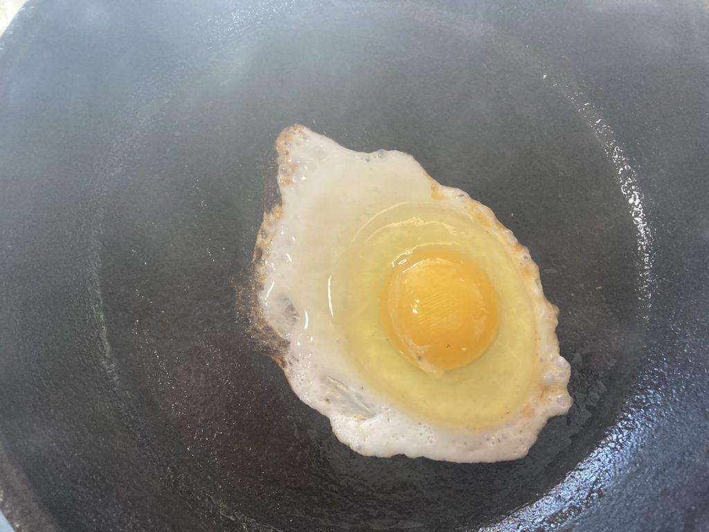飼ってるニワトリの卵を食べた(小屋暮らし85日目)