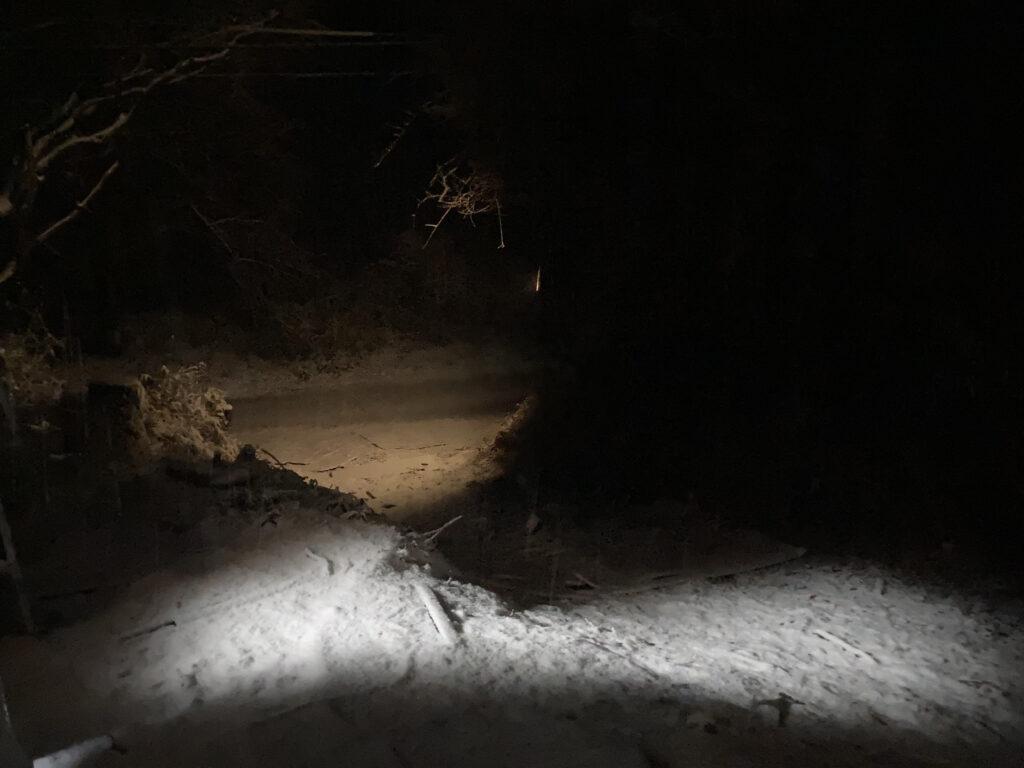 大雪注意報後の現状報告(小屋暮らし日記)