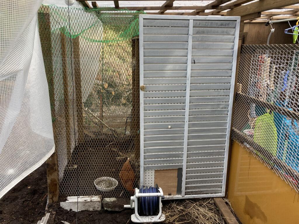 鶏小屋の拡張