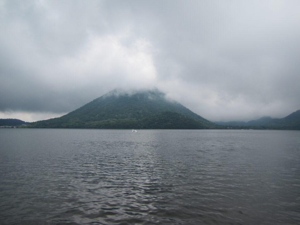 榛名富士登山と榛名湖一周